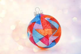 how to make a stained glass ornament