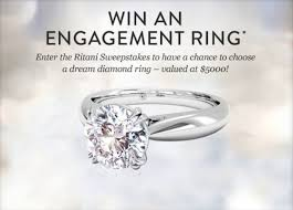 win a wedding ring win a diamond ring 2009 wedding promise diamond engagement