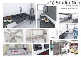 plan cuisines studio neo cuisines pro con plan cuisine professionnelle 3d e