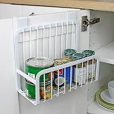 panier cuisine yontree corbeille à suspendre panier sur placard rangement pots à