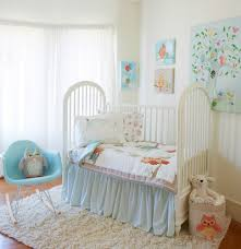 Off White Baby Crib by Baby Nursery Contemporary Unisex Baby Nursery Room Decoration