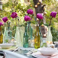 home design endearing table decoration for party orange wedding
