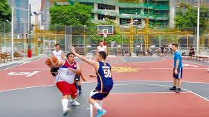 titan love court outdoor basketball in manila youtube