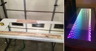 Infinity Mirror Desk Leave Your Guests Mesmerized By Creating An Awesome Diy U0027infinity