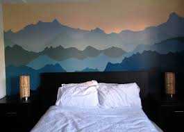 stupendous wall ideas kids mountains and trees mountain scene chic mountain wall mural uk design decor full size