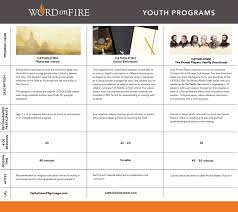 study programs word on fire