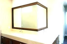unusual bathroom mirrors frameless bathroom mirrors akapello com
