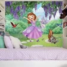 sofia and friends garden xl wallpaper mural 10 5 u0027 x 6 u0027 roommates