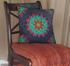 ethical home decor fairtrade handmade cushion eco friendly