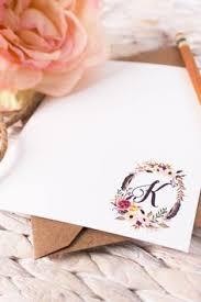 personalized stationery sets personalized stationery personalized notecard by dapperprintsshop