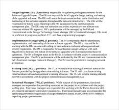 functional managers sample resource planning 7 documents in word pdf