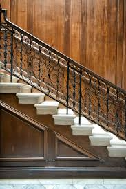 How To Paint A Banister Black 35 Wrought Iron Stair Railing Ideas Photo Gallery