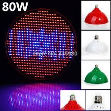 4pcs promotion e27 40w 50w 80w ac85 265v red blue high power leds