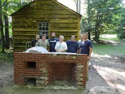 fireplace and oven workshop at eastfield village early american