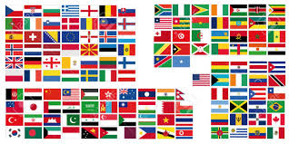 Flag Of The World Complete Set Of Flags Of The World Royalty Free Cliparts Vectors