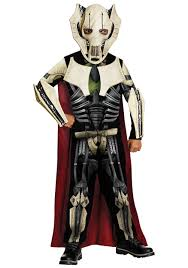 star wars costumes boys villainous general grievous costume kids clone wars costumes