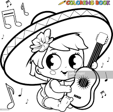 coloring book pages guitar coloring page printable guitar