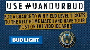 matchday promotions philadelphia union