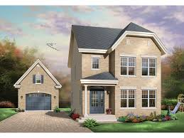 halston narrow lot home plan 032d 0295 house plans and more