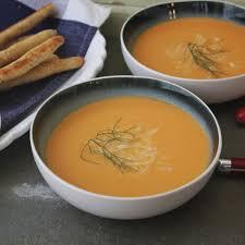 fennel tomato soup with parmesan fennel breadsticks emerils