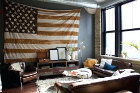 wall ideas distressed american flag wall decor vintage american