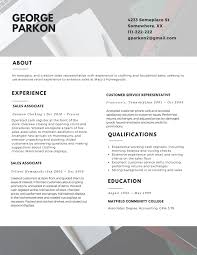 Best Resume Customer Service Representative by The Professional Resume Layout 2017 Resume 2017