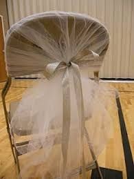 how to make wedding chair covers diy tulle chair covers could hopefully cover all chairs for