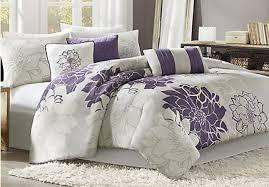 Purple Floral Comforter Set Floral King Comforter Sets Floral Comforter Sets In King Sizes
