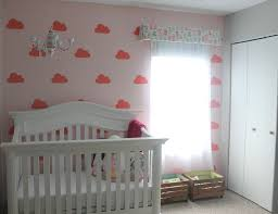 presley s dream room project nursery cloud wall mural for baby nursery