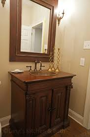 powder room vanity cabinets glamorous powder room design gallery lang s kitchen bath