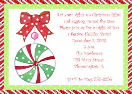 scandy ornament invitations