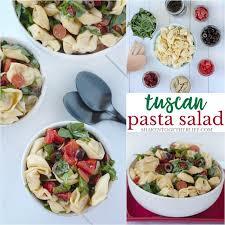 tuscan pasta salad u0026 summer recipes with essential oils