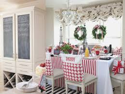 dining room top christmas dining room chair covers home decor