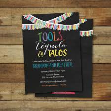 tool wedding shower invitation or stick bar wedding shower