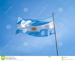 Argentine Flag Argentina Flag On A Pole Stock Photo Image Of Colour 28694944
