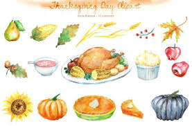 thanksgiving day clipart illustrations creative market