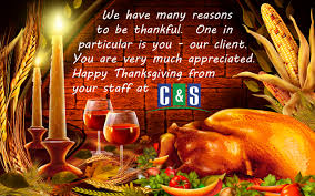 thanksgiving mail to clients c u0026 s community management services news