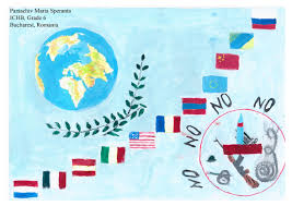 Moldova Flag Romania Schools U0027 International Peace Quilt