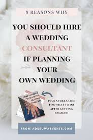 planning your own wedding why you should hire a wedding consultant when planning your own