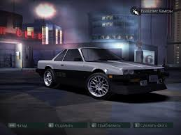 need for speed carbon nissan skyline hardtop r30 nfscars