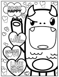 kawaii coloring pages chuckbutt