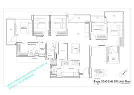 D3 Js Floor Plan Straits Mansions Marine Parade New Freehold Condo Roxy Pacific