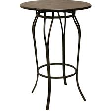 better homes and gardens mixed material pub table mahogany finish better homes and gardens mixed material pub table mahogany finish walmart com