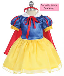 snow white princess infant costume butterfly kisses