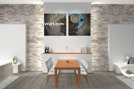 trendy kitchen canvas wall art home decor artwork piece trendy
