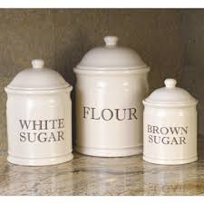 kitchen canisters flour sugar 34 best sugar and flour canisters for kitchens images on