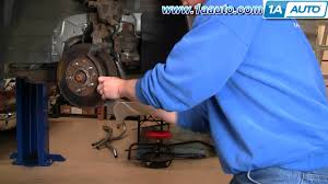 how to install replace front brakes buick lesabre 00 05 1aauto com