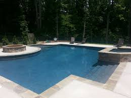 geometric pools custom pool builders concord nc aloha pools
