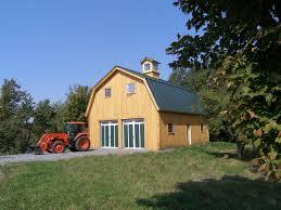 Gambrel Roof Barns Morgan Farmhouse Style Home Plans Yankee Barn Homes 100 Complete