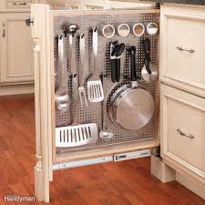 kitchen cabinet pull out storage racks 7 best pull out cabinet organizers you can diy family handyman